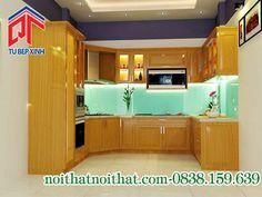 Phong cách sang trọng với tủ bếp đơn giản mà tiện dụng PTL01