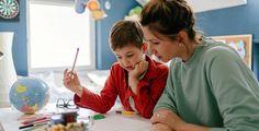 Se školákem se můžete učit klasicky, nebo formou hry Saving For College, School Closures, Flexible Working, Autism Spectrum, Public School, Kids House, Coaching, Parents, How Are You Feeling