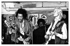 Jimi Hendrix On Bass While Johnny Winter Plays On Guitar…