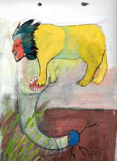 León amarillo