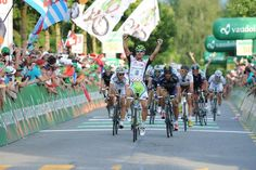 Peter Sagan (Cannondale) added another victory to his palmares, this time in stage 8 at the Tour de Suisse.
