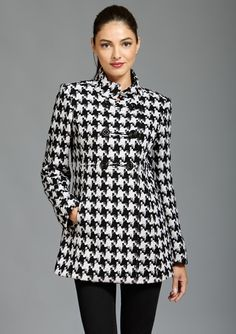 ...haaaave I mentioned how much I adore houndstooth?