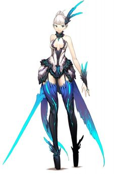 A male design made by Hyung Tae Kim for a korean MMORPG known as Blade and Soul. Description from pinterest.com. I searched for this on bing.com/images