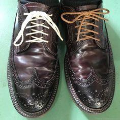 靴紐の結び方 アンダーラップ 靴バカ.com Men Dress, Dress Shoes, Leather Boots, Derby, Oxford Shoes, Lace Up, Classy, Design, Fashion
