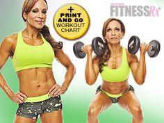 Train Like A Champion Adela Garcia's High-Intensity Body-Shaping Workout