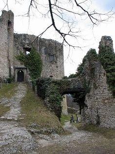 Castle ruins - Gempen, Switzerland