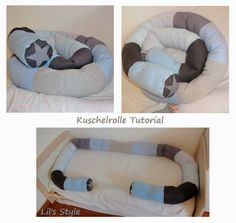 Today I'm back in Tutoriallaune :) Today I'll show you how to make a bed snake, cuddle roll, bedroll, cuddle snake . n … - Diy Kids Crafts Baby Crib Diy, Baby Room Diy, Baby Cribs, Baby Rooms, Baby Knitting Patterns, Sewing Patterns, Crochet Patterns, Diy For Girls, Diy Crafts For Kids