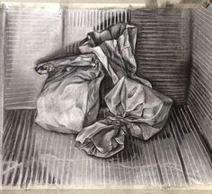 paper bag drawing                                                                                                                                                      More