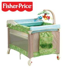 Fisher-Price Rainforest 3-In-1 Travel Cot