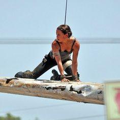 New Set Stills From Tomb Raider Featuring Alicia Vikander