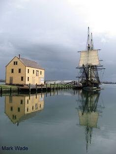The harbor - Salem, Mass.