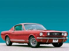 Check out the this Exclusive 1966 Ford Mustang GT Fastback, featuring numerous MCA Gold and local awards, candyapple Red paint, and More! Ford Mustang 1965, Red Mustang, Mustang Fastback, Mustang Cars, Shelby Gt500, Classic Mustang, Pony Car, Ford Motor Company, American Muscle Cars