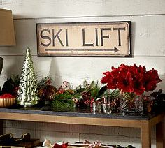 Fun decor for winter!!