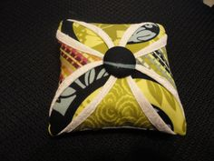Cathedral Window Pincushion by mayesathome on Etsy, $10.00