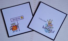 Personal Impressions Blog: Clever Clogs Owls – Sweet Dixie Stamps by Teresa M...