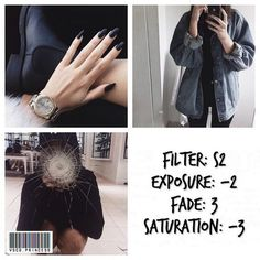 Vsco cam filter S2