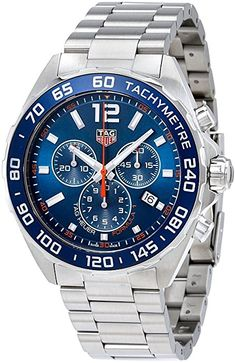 5dfc65e0fbb4 Amazon.com  Tag Heuer Formula 1 Chronograph 43mm Mens Ref CAZ1014.BA0842   Watches