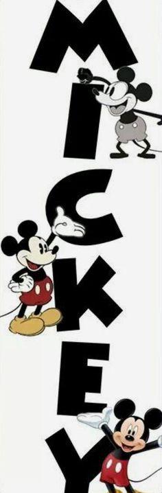 Mickey! I love this!