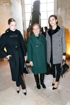 Victoria Traina, Danielle Steele and Samantha Traina - HarpersBAZAAR.com