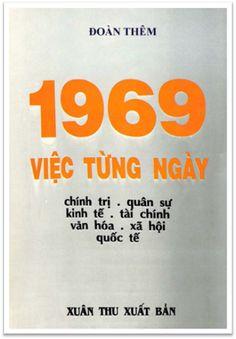 1969 Việc Từng Ngày (NXB Xuân Thu 1971) - Đoàn Thêm, 454 Trang | Sách Việt Nam