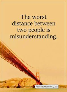 About distance.. by misunderstanding