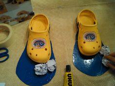 1 - Clown shoes - Papel Maché - Teresa Roque