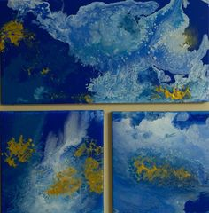 clouds from space, Michelle Burk