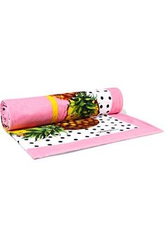 Dolce & Gabbana - Printed Cotton-terry Towel - Pink - One size
