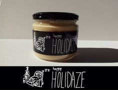 HAPPY HOLIDAZE - WitWicks 12oz Soy Container Candle - Scented -Funny Candle - Christmas Cookies - Handmade - Holiday Decor- Christmas Gift by WitWicks on Etsy https://www.etsy.com/listing/490957033/happy-holidaze-witwicks-12oz-soy