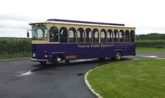 Groupon - Trolley Tour of Three Wineries for Two People from North Fork Trolley Company (50% Off) in Riverhead-The All Star. Groupon deal price: $125