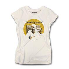 e302d3b041d18d T-shirt donna 100% cotone combinato 165gr. con motivo grafico. Lavaggio a