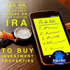 sale Self-directed IRA's are a great way to purchase #rentalproperties Now is the #ti...