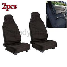 Pair #waterproof nylon front universal car auto seat #cover protectors #heavy dut,  View more on the LINK: http://www.zeppy.io/product/gb/2/251455406065/