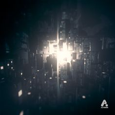 Altered Experiments - City. Abstract renders on the theme  of the city, using Cinema4D  www.altered.tv on Behance