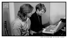 Photo 211 of 365  Tayor & Zac Hanson 2012 - 3CG Studios - Tulsa OK    In this pic Taylor and Zac are working on music for the No Sleep For Banditos Fan Club EP. What song from the EP do you think they are working on?    #Hanson #Hanson20th