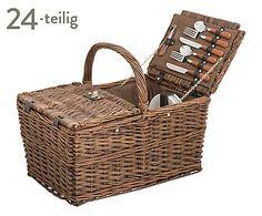Picknickkorb Oxford für 4 Personen, 24-tlg., B 43 cm