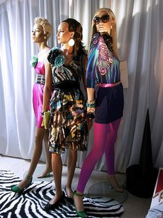 Rootstein Mannequins wearing Matthew Williamsom