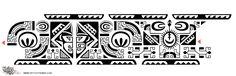 Tattoo of Marquesan ankle-band, Protection, balance tattoo - custom tattoo designs on TattooTribes.com