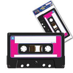 Cassette Tape Clings from Windy City Novelties