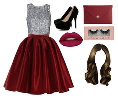"""""""Valentine's Day outfit ❤️"""" by raveenagrace on Polyvore featuring beauty, Boohoo, Vivienne Westwood and Huda Beauty"""