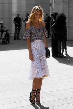 Sunday´s Inspiration: Off The Soulders | BeSugarandSpice - Fashion Blog