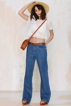 Blank NYC Someone Elsie Wide Leg Jeans -