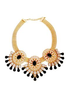 This necklace is the perfect statement piece, it features tear drop jewels and rhinestone embellishments. Gold hardware. Clasp closure with adjustable length.   Tear Drop Necklace Accessories - Jewelry - Necklaces Accessories - Jewelry - Necklaces - Statement Necklaces Las Vegas