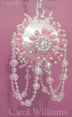 Easy Christmas Beaded Ornaments Kits | Designer Beads and Ornaments