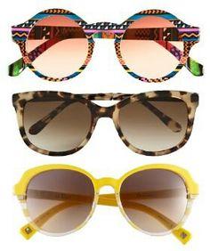 Summer sunglasses with animal prints and patterns  #Sunglasses #Retro #Stylish