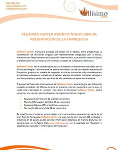 @Vellisimocenter anuncia nueva gira de presentación de la  #franquicia.