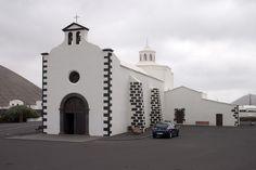 Ermita de los Dolores en Mancha Blanca, Tinajo (Lanzarote).