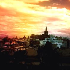 Sevilla it's in the air