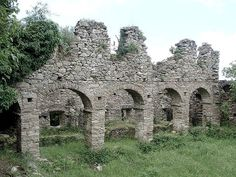 Corsica - Costa Serena --- Ruines du couvent Saint-François de Prunelli - Prunelli-di-Fiumorbo (I Prunelli)