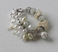 Luquillo Beach Handmade Beaded Pearl by bdzzledbeadedjewelry, $35.00
